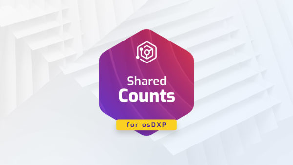 Shared Counts for osDXP